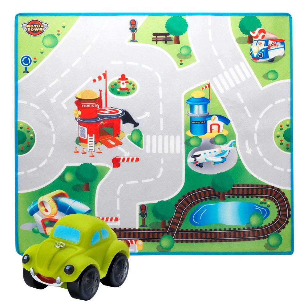 Motor Alfombra Town Y Circuito Ciudad Coche wn0k8OPX