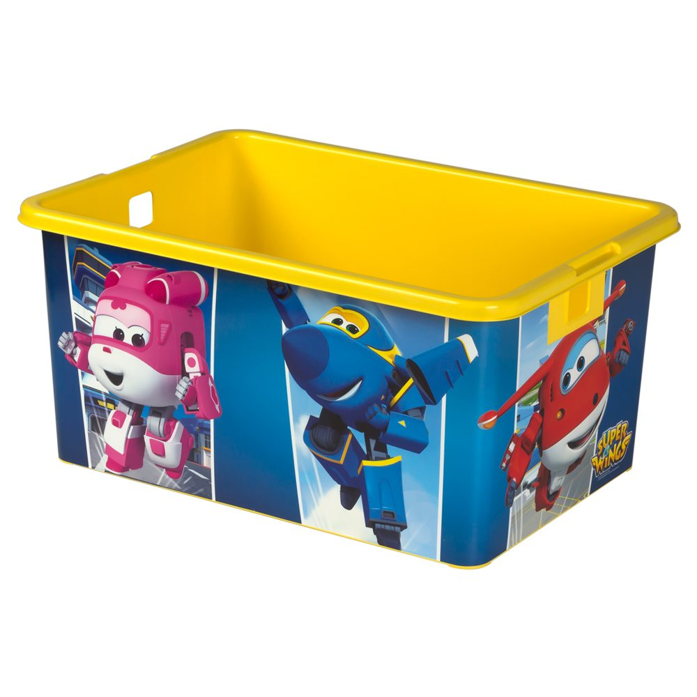 Super wings caja de ordenaci n infantil 35l - Cajas de ordenacion ...