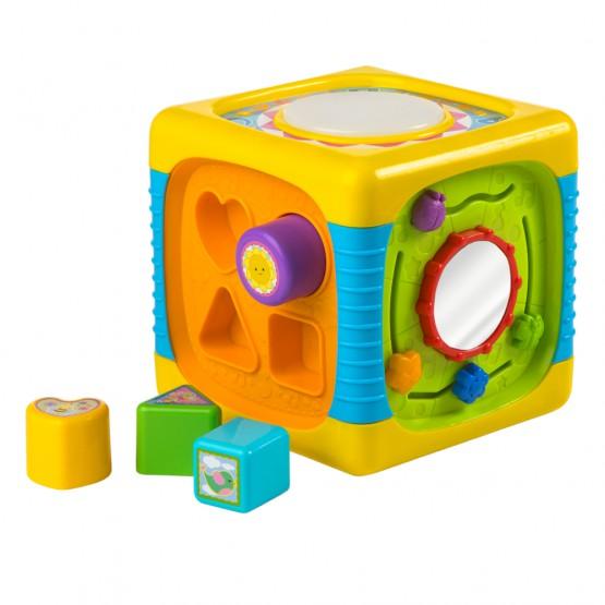 Cubo de actividades Winfun luz y sonido