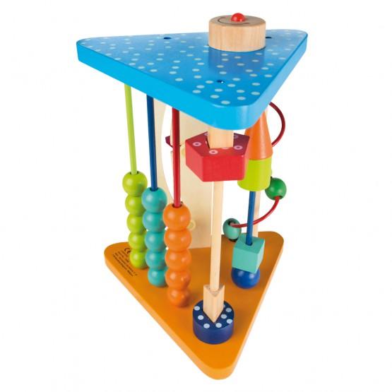 Centro de actividades de madera Play & Learn