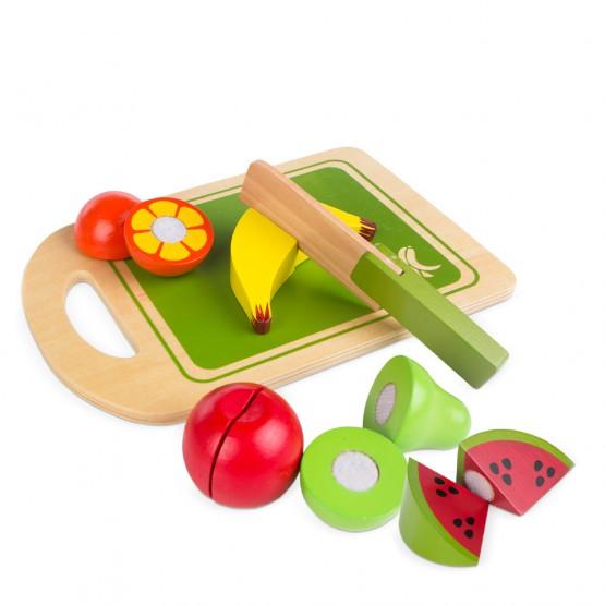 Juego de frutas de madera  - Play & Learn