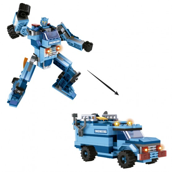 Robot 2 en 1 Titan Form Heroes AUSINI