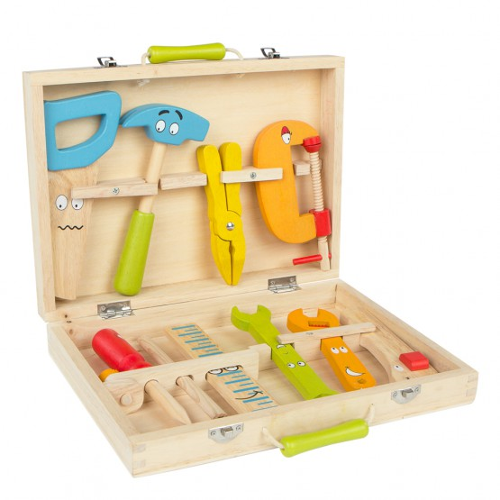 Maletín de herramientas madera Play & Learn