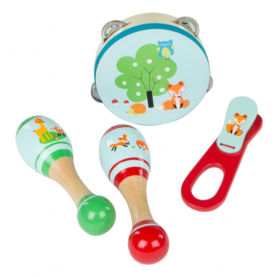 Instrumentos musicales de madera Play & Learn