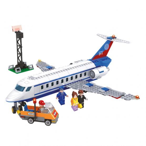Juego de construcción Jet 390 piezas AUSINI