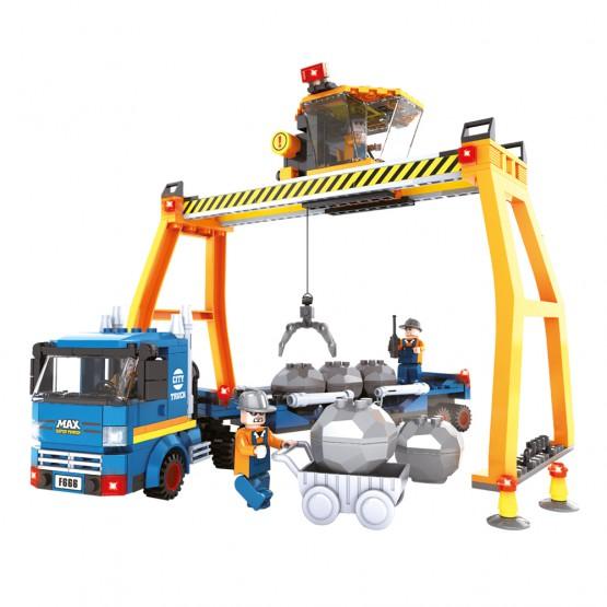 Juego de construcción Camión Grúa 389 piezas AUSINI