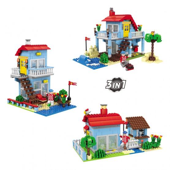 Juego de construcción Casa 3 en 1 469 AUSINI