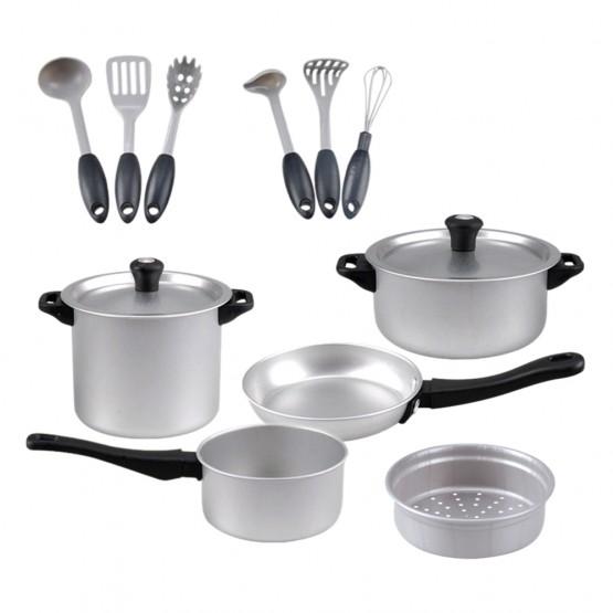 Set de accesorios de cocina de metal PlayGo