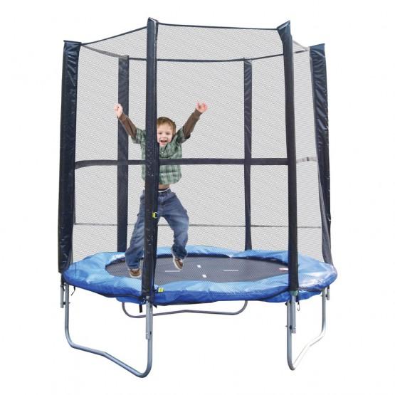 Cama elástica Hedstrom con red de seguridad 366x260 cm