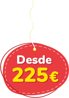 Precio desde 225 Euros