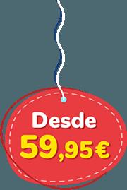Precio desde 59.95 Euros